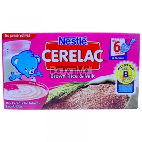 Nestle Cerelac Brown Rice & Milk 120g